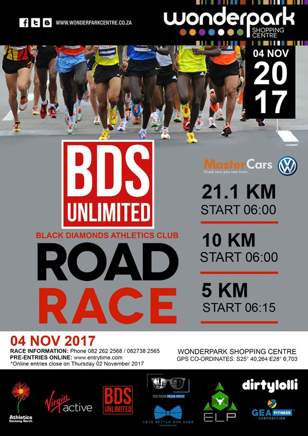 BDS Unlimited Road Race @ Wonderpark Shopping Centre